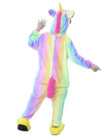 Eenhoorn Unicorn Onesie regenboog + GRATIS ketting