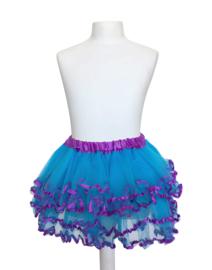 Ballet rokje blauw paars