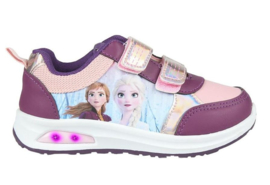 Disney Frozen 2 sneakers Elsa & Anna lichtjes