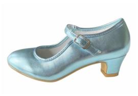 Spaanse schoenen blauw glamour NIEUW