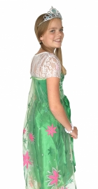 Elsa Frozen Fever Dress Princess costume green