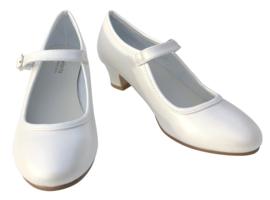 Spaanse schoenen ivoor wit NIEUW