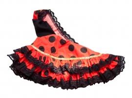 Spaanse Jurk Barbie rood/zwart