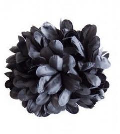 Spaanse haar bloem zwart XL