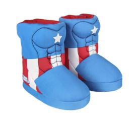 Captain America pantoffels sloffen boots kinderen