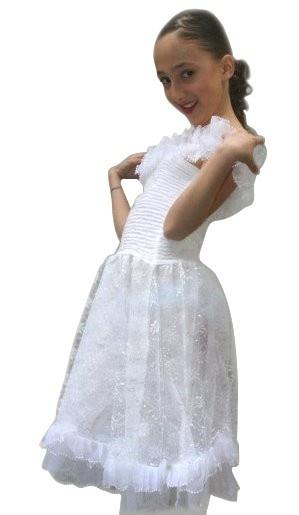 Princess dress white