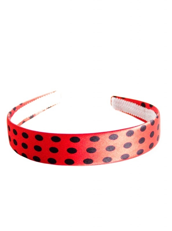Flamenco headband red black