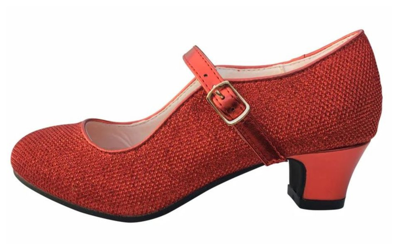 Chaussures Flamenco - Rouge Glamour