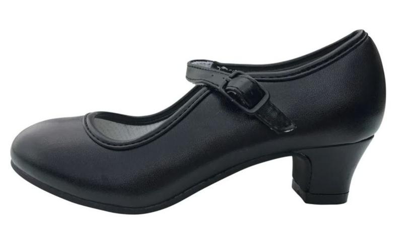 Flamenco shoes black