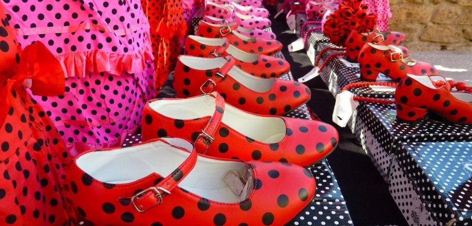 Flamenco schoenen