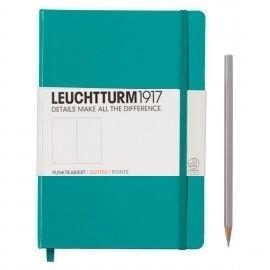 Leuchtturm1917 Notitieboek Dotted 14.5 x 21cm (A5)  Emerald groen [2613]