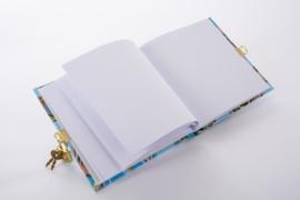 Turnowsky Tulip Aqua dagboek met slot  [1916]