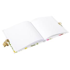 Turnowsky Wildflowers dagboek met slot