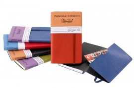 Miquelrius Flexible Notebook Geruit Squared 128 pag MINI 7x12cm
