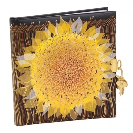Turnowsky Starry Sunflower Dagboek met slot