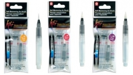 Koi Water Brush Penselen Set Small + Medium + Large [508-509-510]