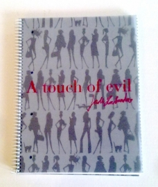 Jordi Labanda Bondgirls A touch of Evil 4-subject notitieboek A4