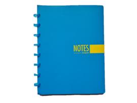 Brepols notitieboek A5 gelinieerd hemelsblauw