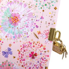 Turnowsky Primavera Rose dagboek met slot  [1485]
