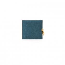 Goldbuch Summertime Linnen dagboek met slot LichtBlauw [1493]