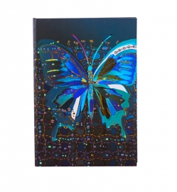 Turnowsky Flower Butterfly  Notitieboek Blanco A5