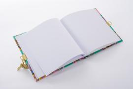 Turnowsky Tulip Green dagboek met slot