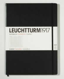 Hardcover Notitieboek Leuchtturm1917 Geruit Master SLIM  - A4 [323]
