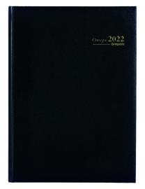 2022 Brepols Omega A4 kantooragenda 2p/7d kolommen weekagenda