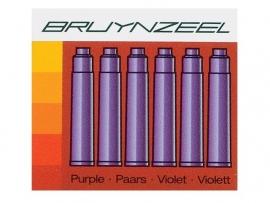 ACTIE: superaanbieding 24 inktpatronen Bruynzeel Paars [563]