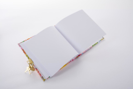 Turnowsky Aqua Flowers dagboek met slot  [1873]