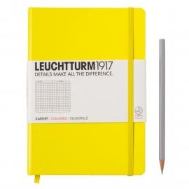 Leuchtturm1917 Notitieboek Gelinieerd 14.5 x 21cm (A5) lemon