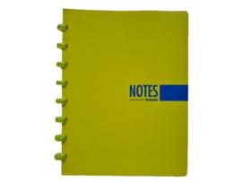 Brepols notitieboek A5 gelinieerd limoen