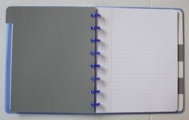 xx Trendy Atoma notitieboek A5+ met tabs gelinieerd limoen [1974]