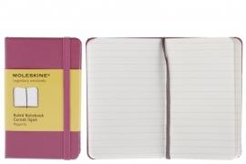 Moleskine Notitieboek Gelinieerd ROZE magenta 9x14cm (Pocket) [2375]