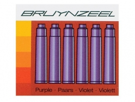 Bruynzeel inktpatronen Violet PAARS [551]
