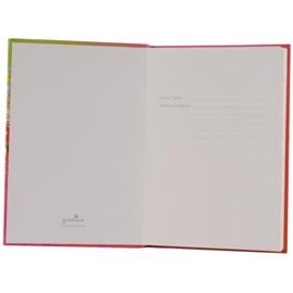 Turnowsky Flower pink Butterfly  Notitieboek Blanco A5