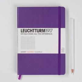 xx Leuchtturm1917 Colour Notitieboek Geruit 14.5 x 21cm (A5) violet [372]