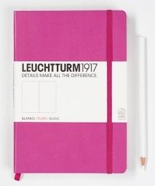 Leuchtturm1917 Notitieboek Blanco 14.5 x 21cm (A5) Pink