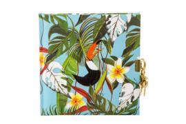 Turnowsky Tropical Tukan dagboek met slot  [1862]