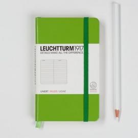 Leuchtturm1917 Colour notitieboek Gelinieerd 9 x 15 cm (Pocket) lentegroen [1280]
