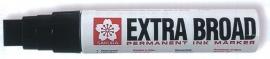 Sakura EXTRA BROAD permanent ink marker zwart XL [1043]