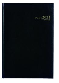 2021 Brepols Omega A4 kantooragenda 2p/7d kolommen weekagenda
