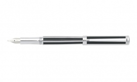 Sheaffer Intensity Jet Black Striped vulpen [2253]