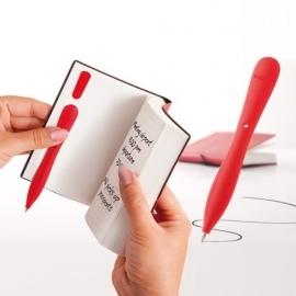 Bobino Slim Pen Wit voor in je notitieboek