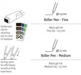 Moleskine Roller Pen 0,5mm Fine