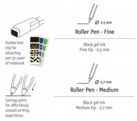 Moleskine Roller Pen 0,7mm Medium [1627]