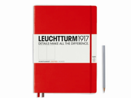 Hardcover Notitieboek Leuchtturm1917 Dotted Master SLIM XL- A4 [790