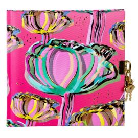 Turnowsky Tulip Pink dagboek met slot