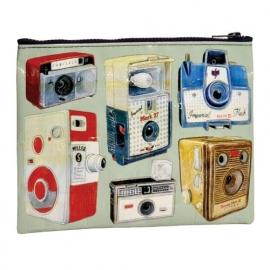 Zipper pouch Camera`s BlueQ 18x24cm [1938]