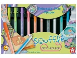 Bruynzeel Sakura SOUFFLE Deco roller set van 10 gelpennen [1330]